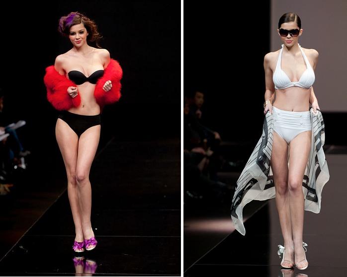 内衣名模身穿透视装奢华走秀-奢侈品频道-和讯网