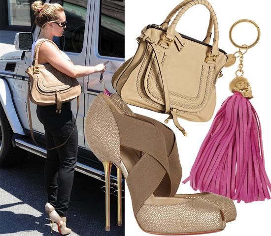九月必备时尚单品 金色手袋&高跟鞋奢华复兴(图3)