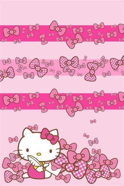 """以上壁纸图片均来自应用""""超高清hello kitty壁纸"""",应用中更有1000 张"""