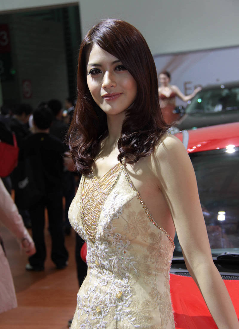 2011成都车展车模图片(二)