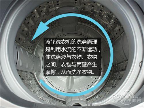 波轮式洗衣机洗涤过程需要用比滚筒