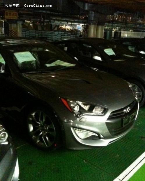 曝光新2012款现代劳恩斯酷派 底特律车展发布高清图片
