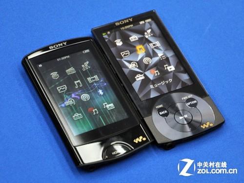 索尼NW A860与上代外观对比
