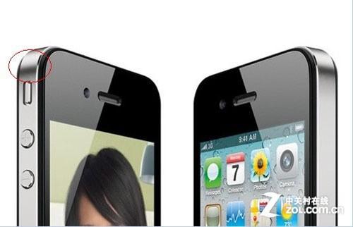 iPhone 4则没有