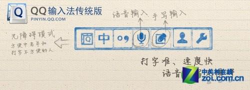 qq拼音手写安装_qq拼音输入法传统版4.4增语音手写输入