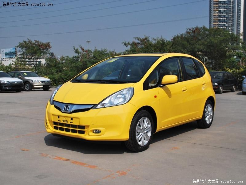 车往日销量王 本田飞度优惠7千现车有售高清图片
