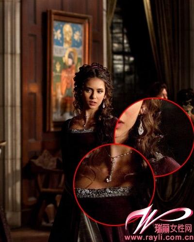 吸血鬼日记 中Elena的水晶小吊坠