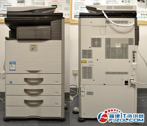 夏普/夏普MX/2318UC能够实现黑彩同速23页/分钟的快速复印打印,...