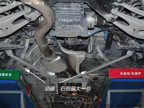 宝马5系排气底盘结构图