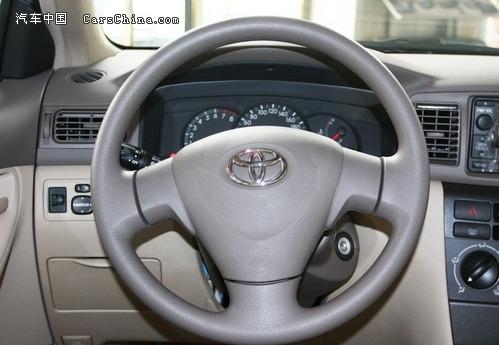 丰田花冠空调为手动控制