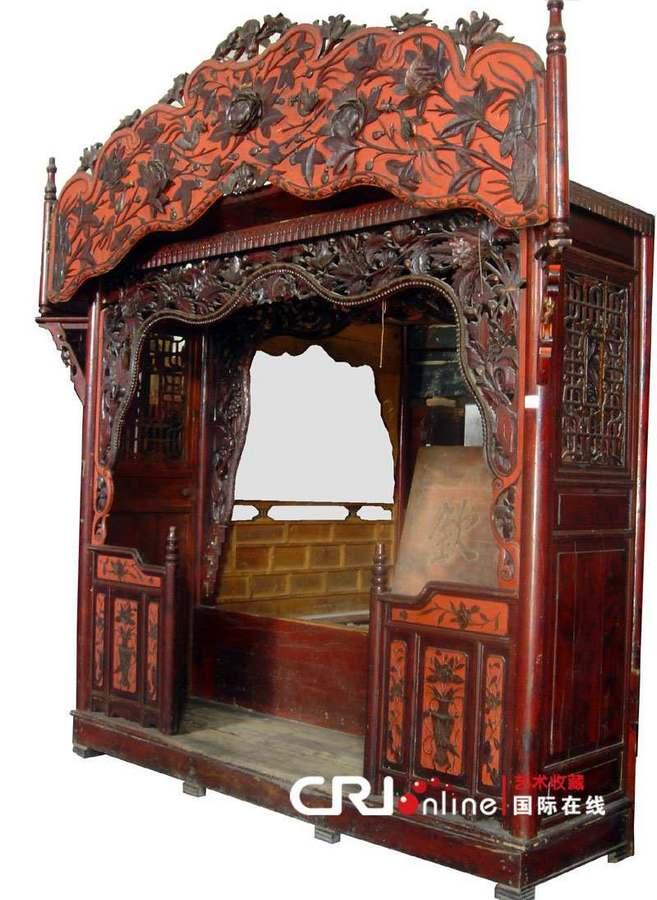 (多圖)看看古代大戶人家奢華的床什么樣