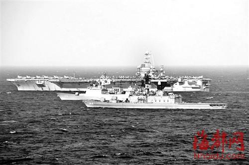 联合军演 日韩/美日韩今年六月曾进行联合军演