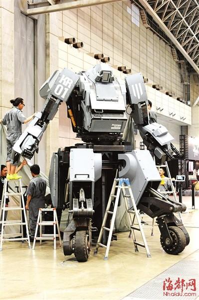 让科幻片汗颜的最新型装备一览