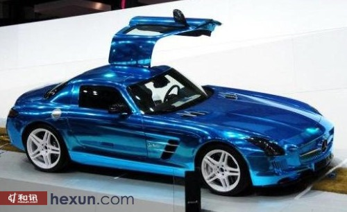 奔驰SLS AMG 电动版