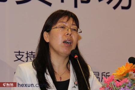 郑州商品交易所品种发展部助理总监郭淑华