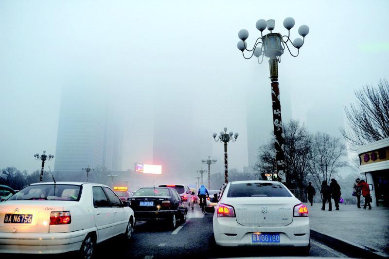 乌鲁木齐市发布大雾黄色预警