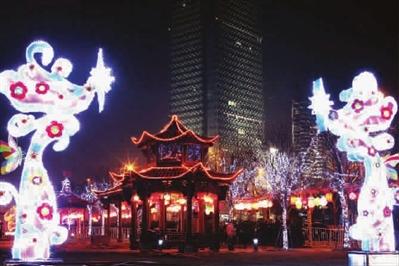 高楼大厦与中国民俗相映成辉 图tp