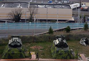 组图:2014索契冬奥会被俄军众多防空导弹包围