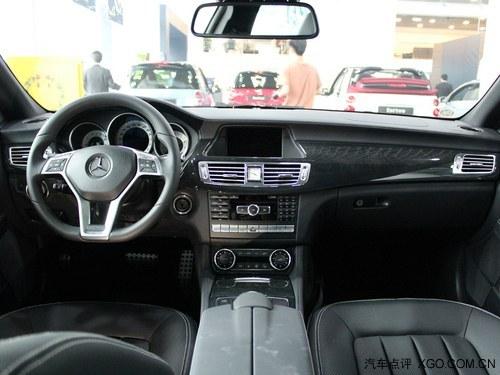 奔驰cls350猎装版降价 红色现车减15万高清图片