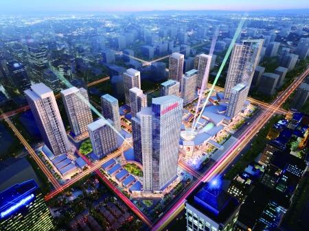 重庆礼嘉天街设计图
