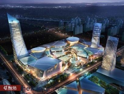 太湖新城规划效果图