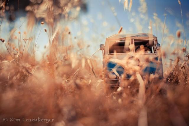 文艺青年的色彩 拍摄大众经典汽车模型