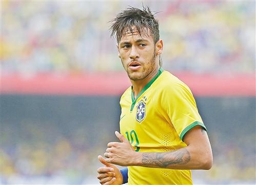 巴西队球员内马尔-足够嗨 那些与巴西世界杯有关的趣事图片