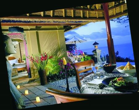 巴厘岛海景餐厅