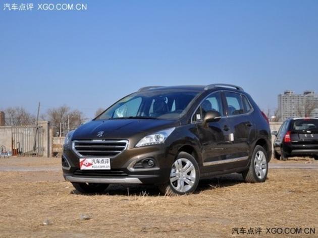 无锡东风标致3008现优惠0.6万 现车在售