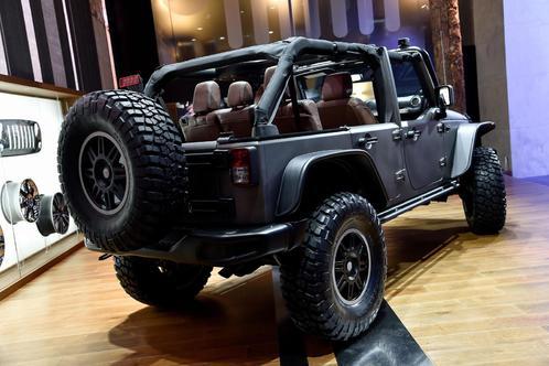 jeep牧马人改装版 JEEP牧马人Stealth概念车2014巴黎车展发布