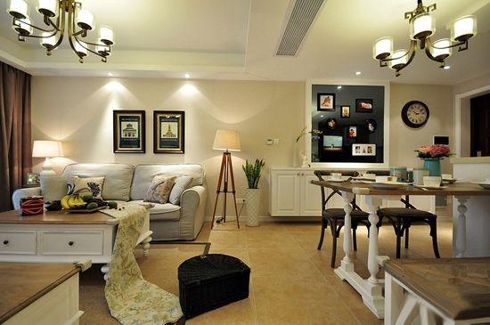 85平二居室装修堪比样板间 唯美婚房夫妻怦然心动高清图片