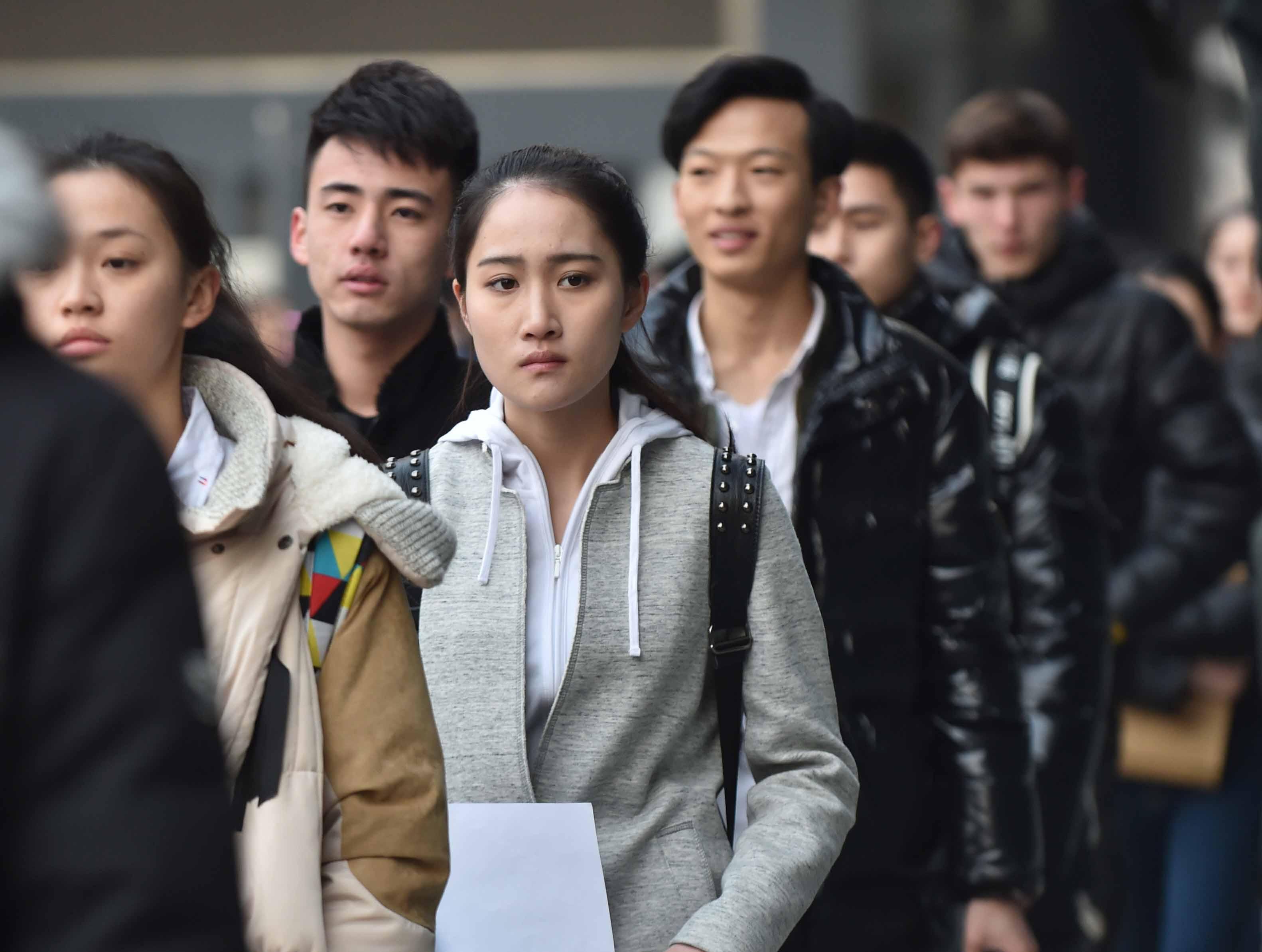 (锐视角)(2)北京电影学院表演学院初试开考图片