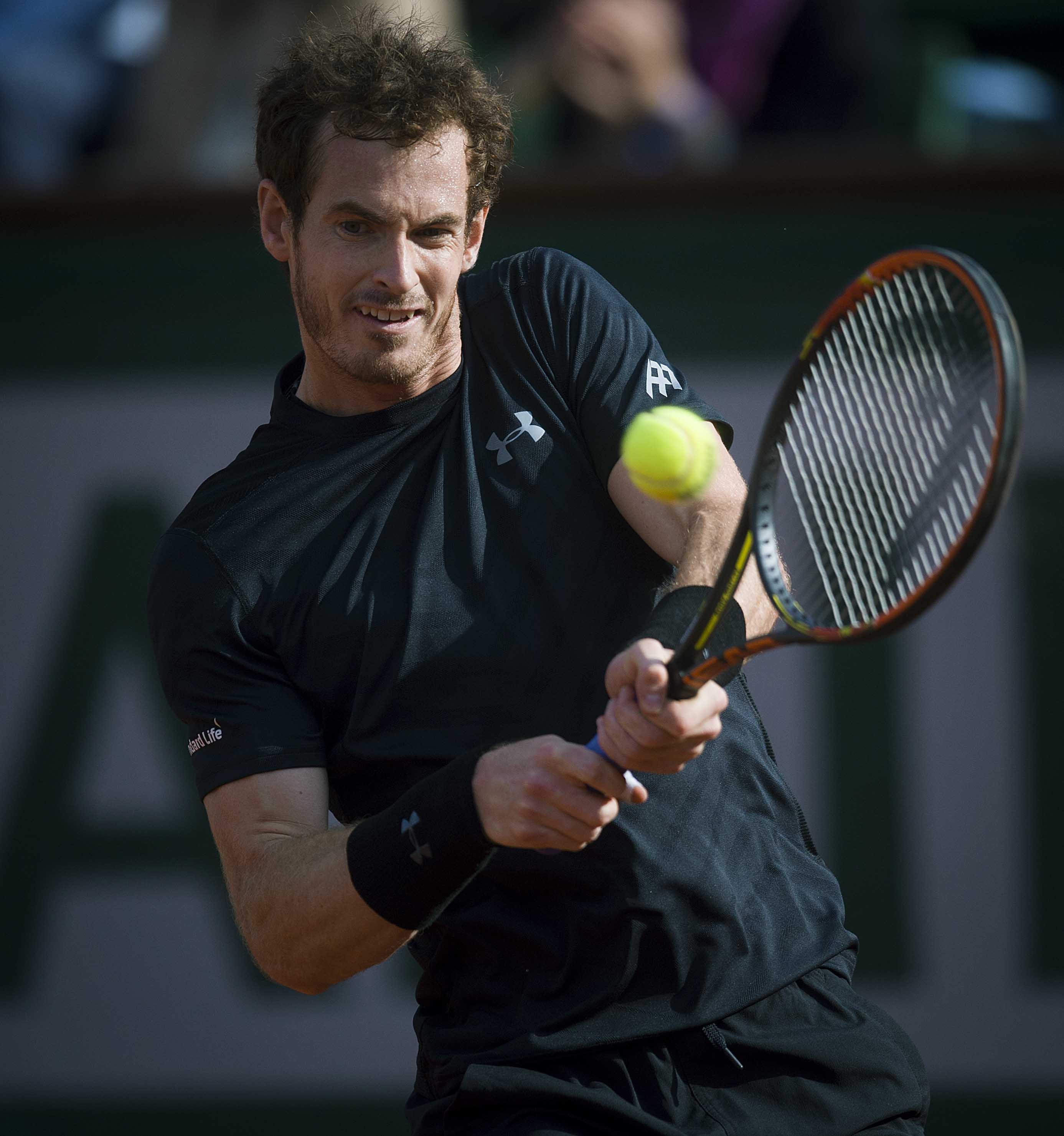 (锐视角)(4)网球——法网:默里首轮晋级图片