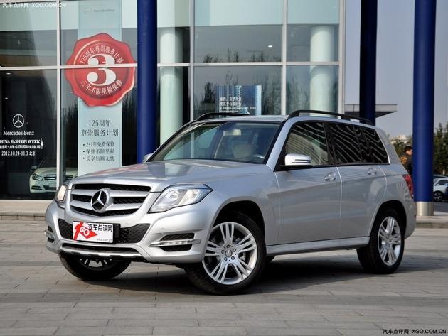 奔驰glk级 奔驰glk级最高优惠6万元 店内少量现车