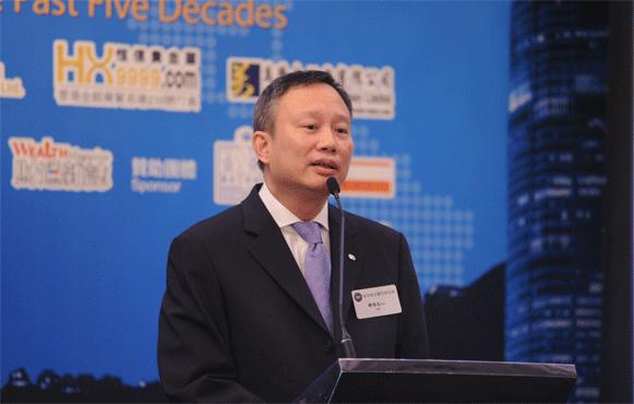 香港贵金属同业协会主席邝德成