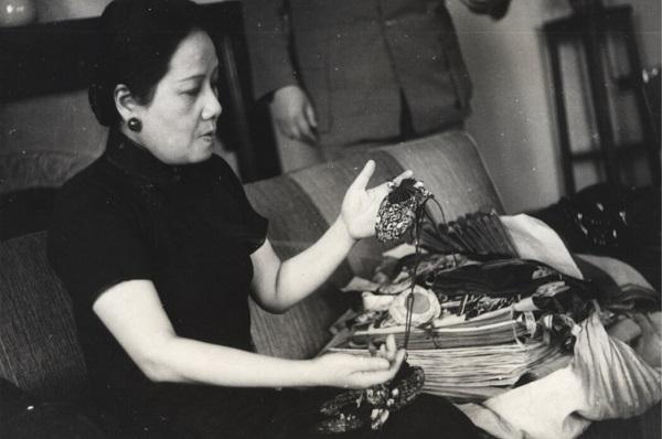 """宋氏三姐妹特展""""中,宋蔼龄频频亮相,这是她的照片首次单独出现在中国图片"""