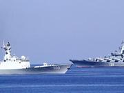 中俄南海军演即将打响