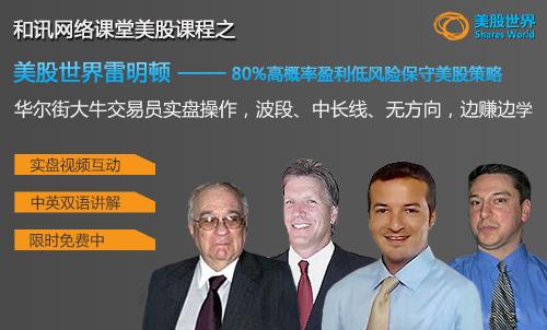 美股世界雷明顿:80%高概率盈利低风险保守美股策略