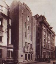 1933年落成的上海亚洲文会大楼